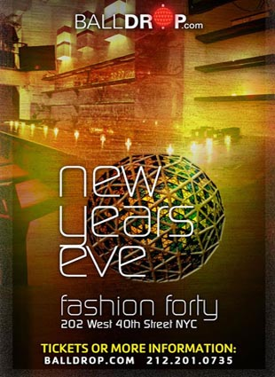 Fashion Forty Lounge Times Square New Years Eve 2022