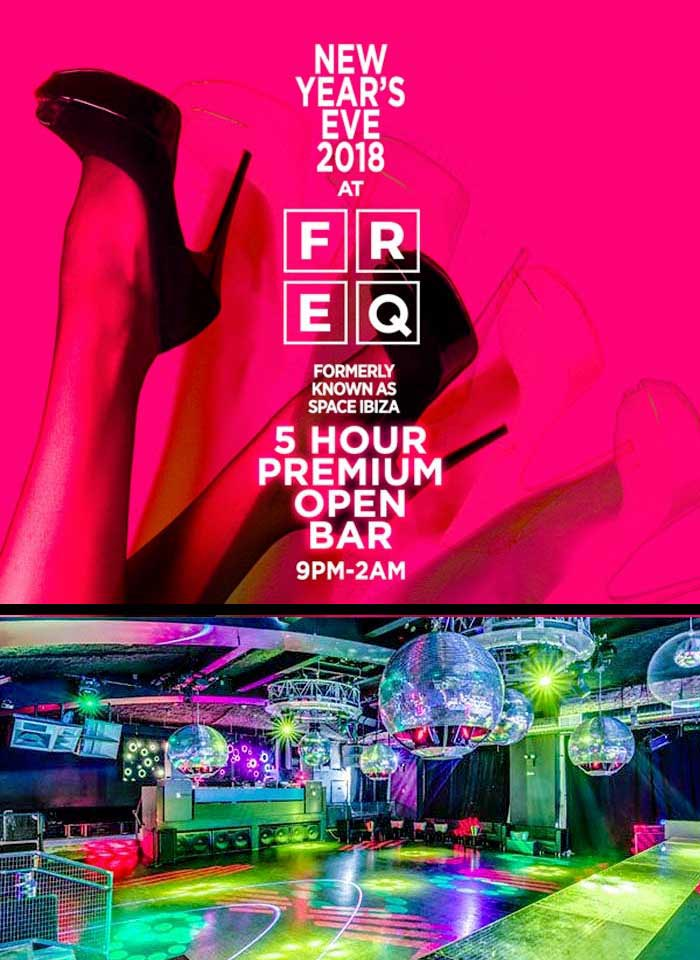 FREQ fka Space Nightclub New York City New Years Eve 2020