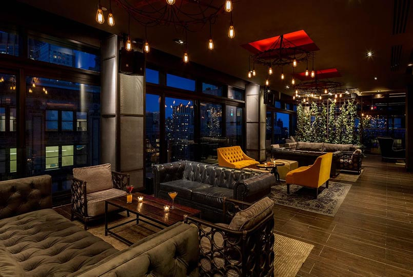 Gansevoort Park Rooftop Times Square New Years Eve 2022