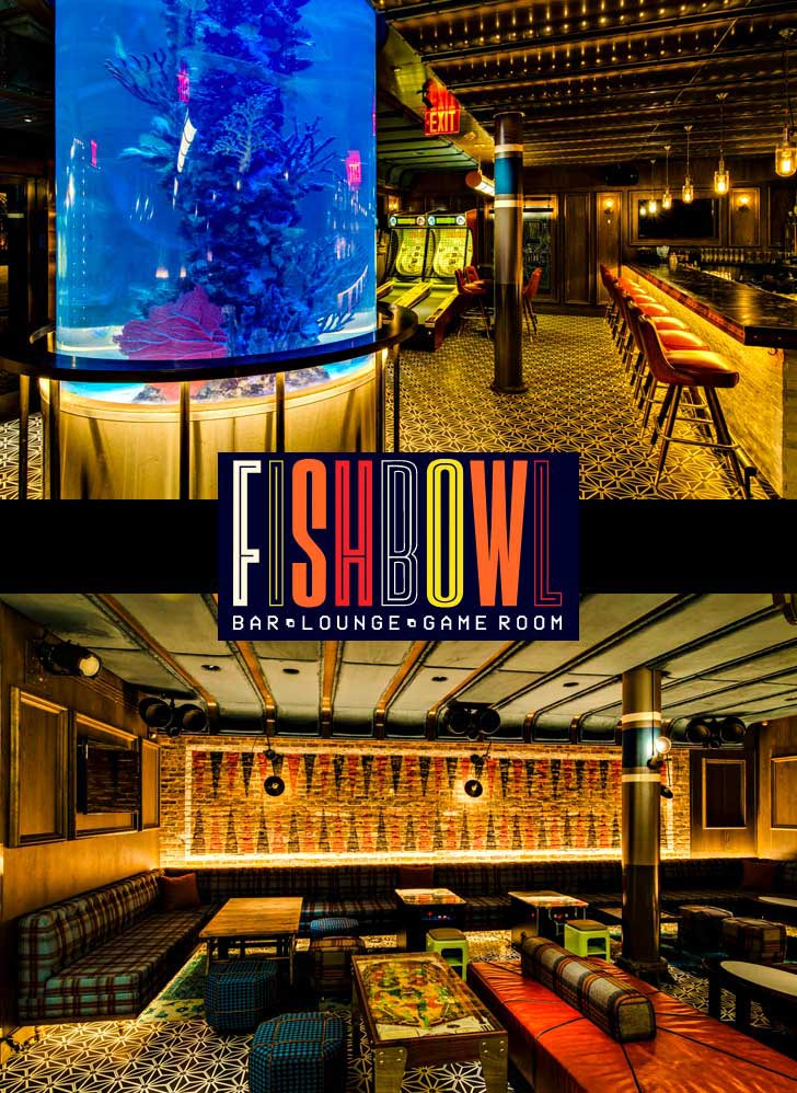 Fishbowl at Dream Hotel NYC New Years Eve 2020