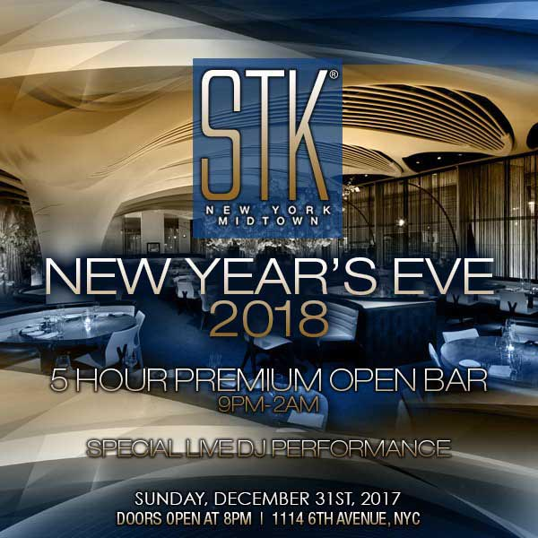 STK Times Square New Years Eve 2018