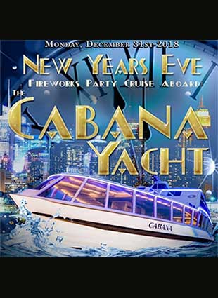Cabana Party Yacht NYC New Years Eve 2019