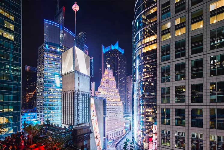 The Knickerbocker NYC Times Square New Years Eve 2021