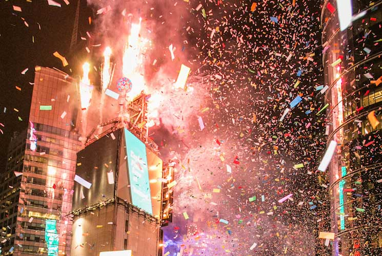 New Year 2020 Times Square New Years Eve at The Knickerbocker NYC | NYC New Years Eve 2020