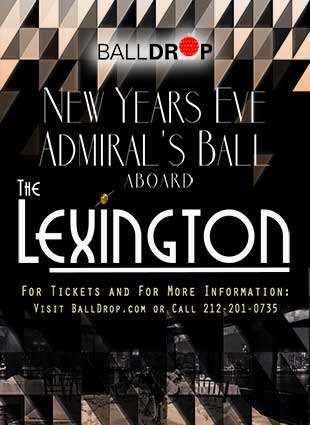 Lexington Yacht NYC Cruise New Years Eve 2021