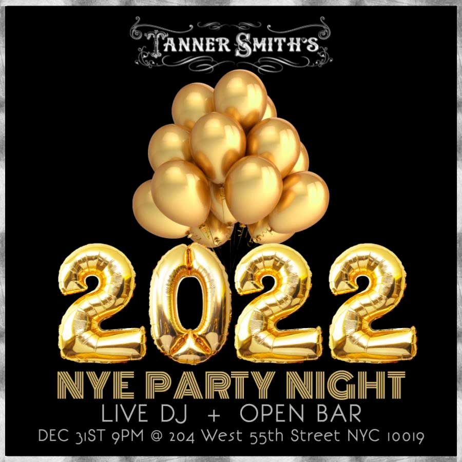 Tanner Smith's Times Square New Years Eve 2021