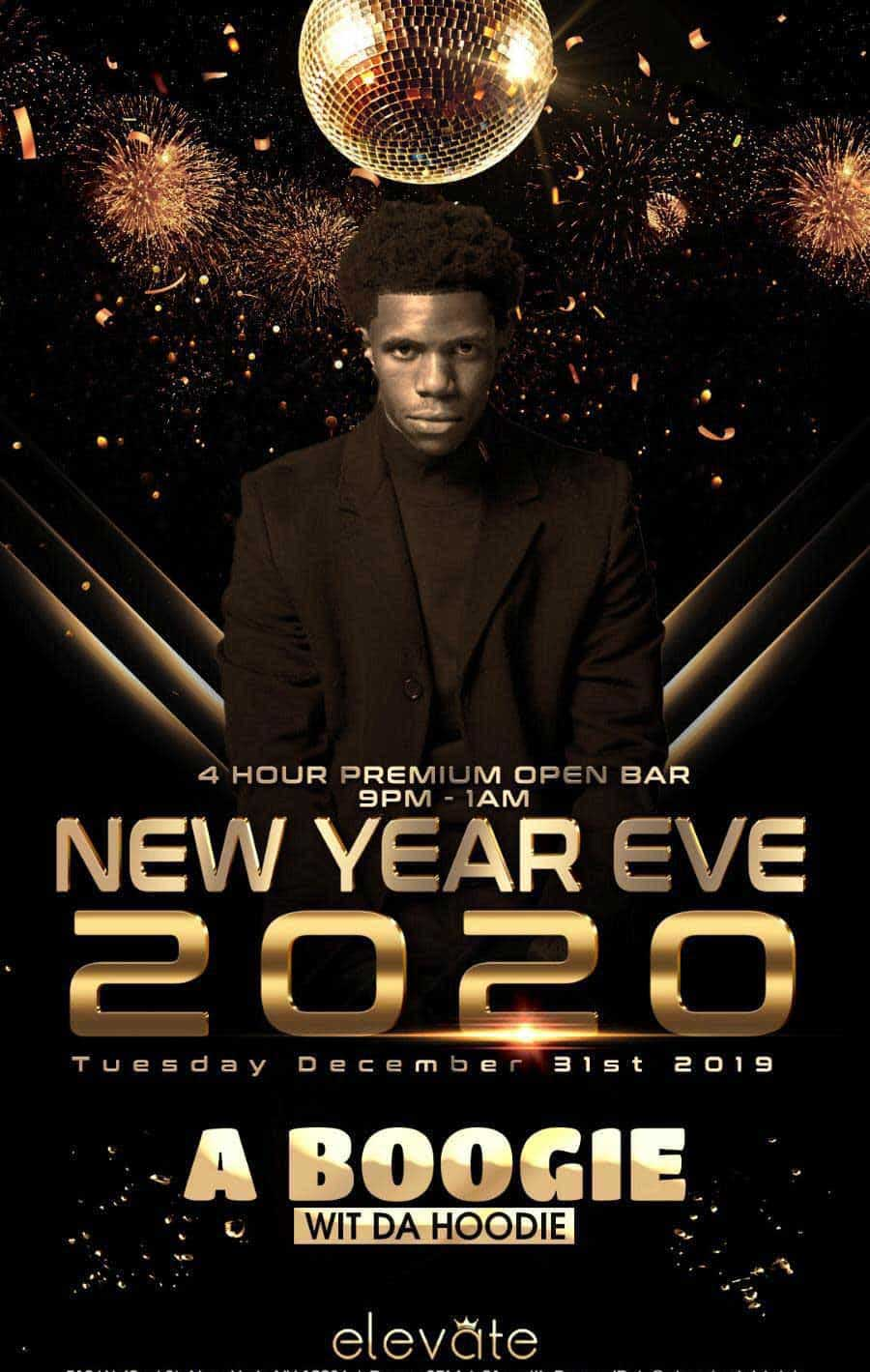 Elevate Nightclub Times Square New Years Eve 2021