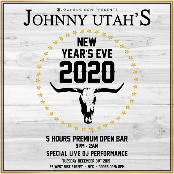 Johnny Utah's Times Square New Years Eve 2021