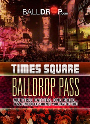 BallDrop Pass Times Square New Years Eve 2022