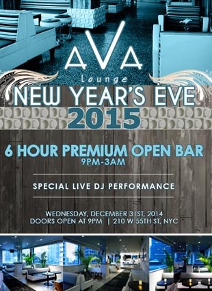 New Years Eve at Ava Penthouse at Dream Hotel | NYC New Years Eve 2021