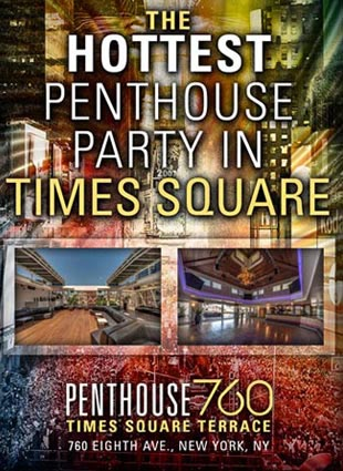Penthouse 760 Times Square New Years Eve 2019