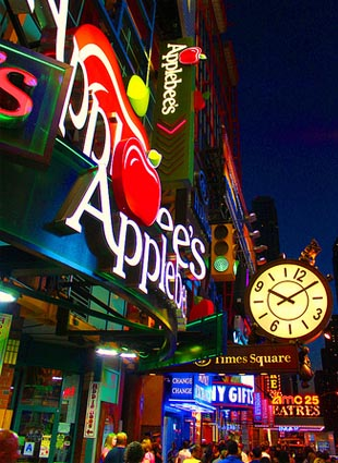 New Years Eve at Applebee's 42nd Street  NYC New Years Eve 2021
