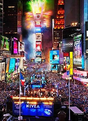 Patrick's Times Square New Years Eve 2021